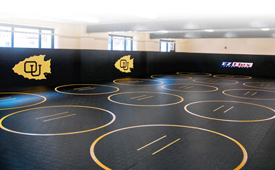 Custom EZ Flex Wrestling Room