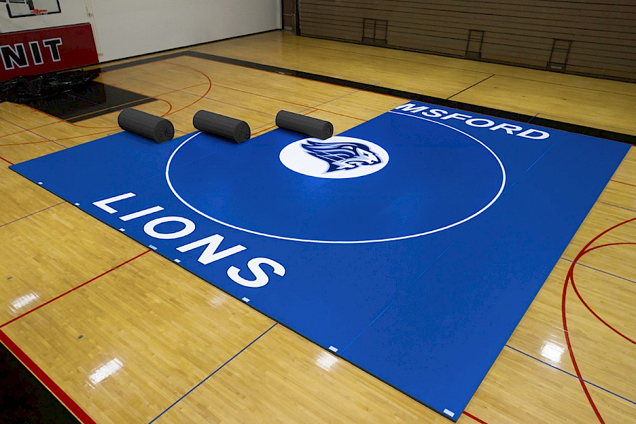 Wrestling Mats By EZ Flex Quality Lightweight Competition Mats - Mate flex flooring