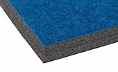 Carpet bonded foam detail