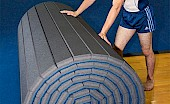 Flexible rolling feature makes floors easy and fast to set up and break down!